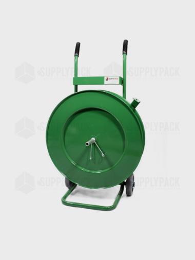 Carrinho Desenrolador de Fita de Arquear Pet R. 400mm Supplypack