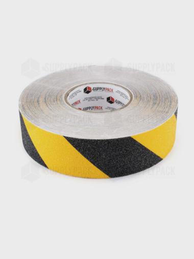 Fita Adesiva Antiderrapante 50mm X 30m Zebrada Am/Pt Supplypack