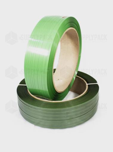 Fita Pet Verde de Arquear 25mm X 1,2mm x 500m Supplypack
