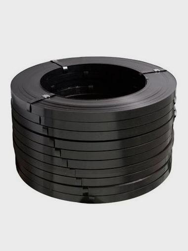 Fita de Aço Preta Laqueada FE-2 16 x0,5mm
