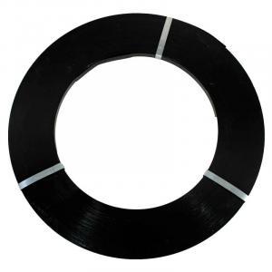 Fita de aço laqueada preta