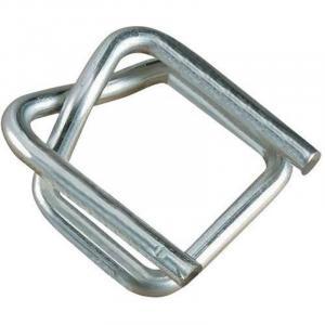 Fivela metalica para fita de arquear