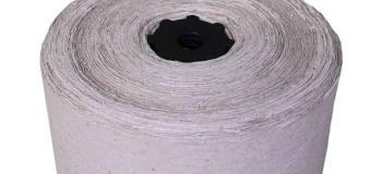 Bobina de papel hd
