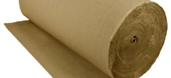 Bobinas de papelão ondulado