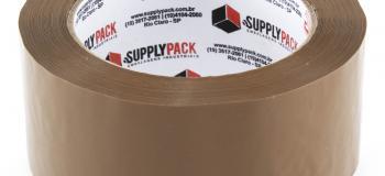 Distribuidor de fita adesiva marrom