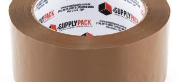 Fábrica de fita adesiva marrom