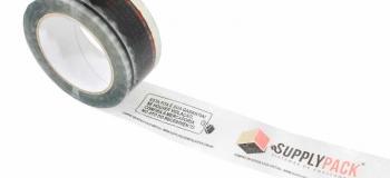 Fita adesiva para embalagem personalizada