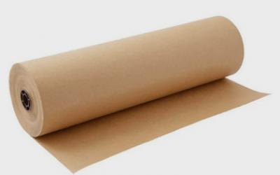 Bobina Papel Pardo Semi - Kraft 60cm 80G Supplypack