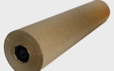 Bobina Papel Pardo Semi Kraft Monolúcido 60cm 80G Supplypack