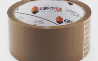 Fita Adesiva Marrom 45mm X 45m Supplypack