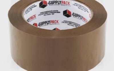 Fita Adesiva Marrom 48mm X 100m Supplypack