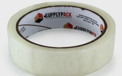 Fita Adesiva Transparente 24mm X 100m Supplypack