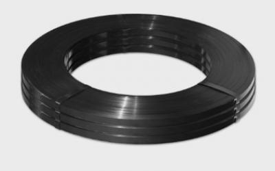 Fita de Aço Preta Laqueada FE-2 25 x 0,8mm