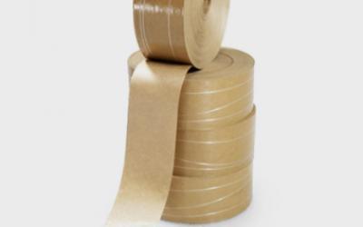 Fita Gomada com Reforço 70mm Rolo c/ 1,5 kg Supplypack