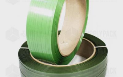 Fita Pet Verde de Arquear 19mm X 500m Supplypack